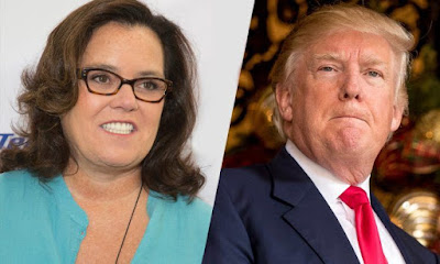 Donald Trump ripped Rosie O'Donnell