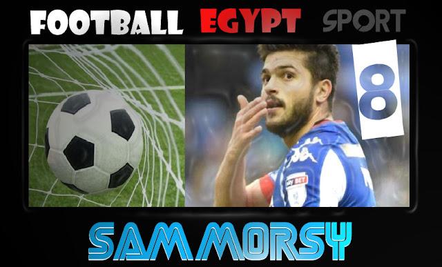 هل يعود اللاعب سام مرسي للمنتخب المصري مرة اخري ام لا sam morsy wigan athletic football