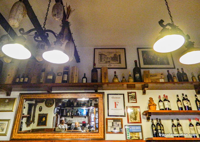 Bar em Florença, Itália