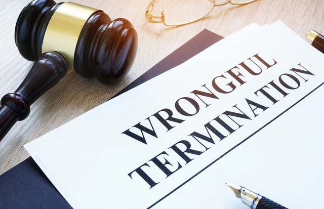 job dismissal employment law wrongful termination