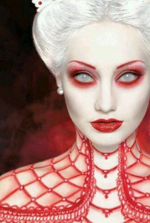 Gothic Fantasy Halloween Makeup
