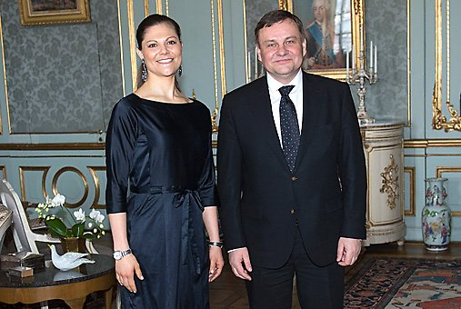 he Crown Princess held an audience with the Speaker of the Lithuanian Seimas, Vydas Gedvilas