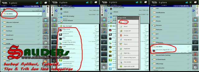 Cara Mudah Backup Aplikasi.apk Yang terpasang di Android, SALIDERs