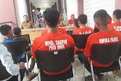 Kadisparporabud dan Ketua PBSI Melepas 11 Atlet Bulutangkis