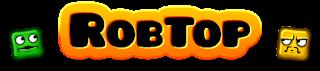 Logo del desarrollador de Apps asentado en Suecia: RobTop Games