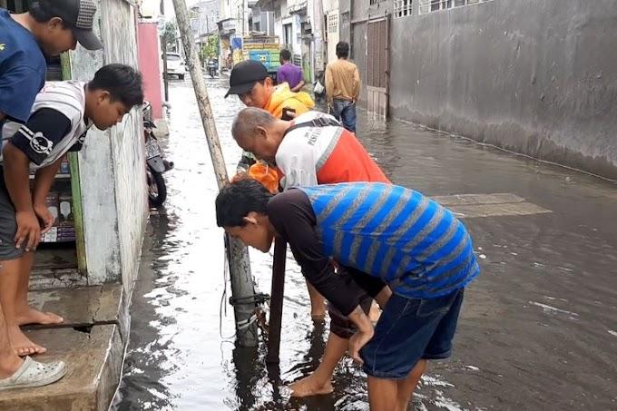 Fenomena Banjir dari Saluran Air