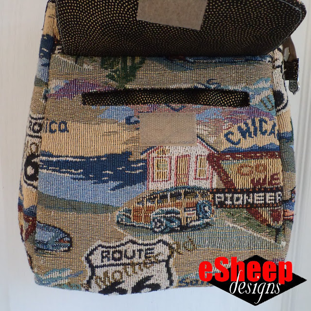 ithinksew Customized Ollie Bag by eSheep Designs