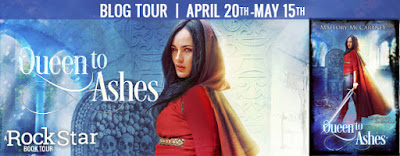 Blog Tour & Giveaway: Queen To Ashes by Mallory McCartney