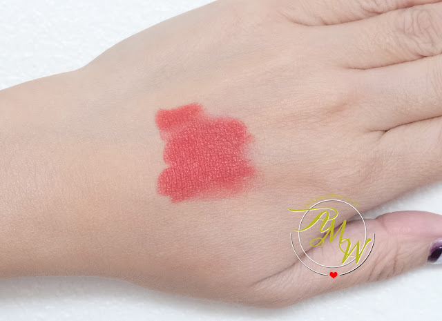 a swatch photo of Dior Rouge matte 999 review by Nikki Tiu of askmewhats.com