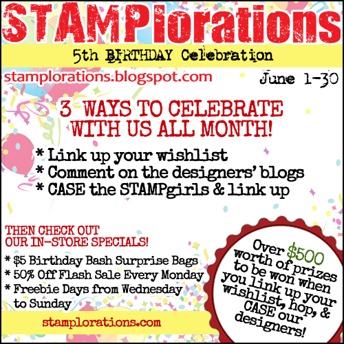 STAMPlorations 5th Birthday Wishlist Linky Party