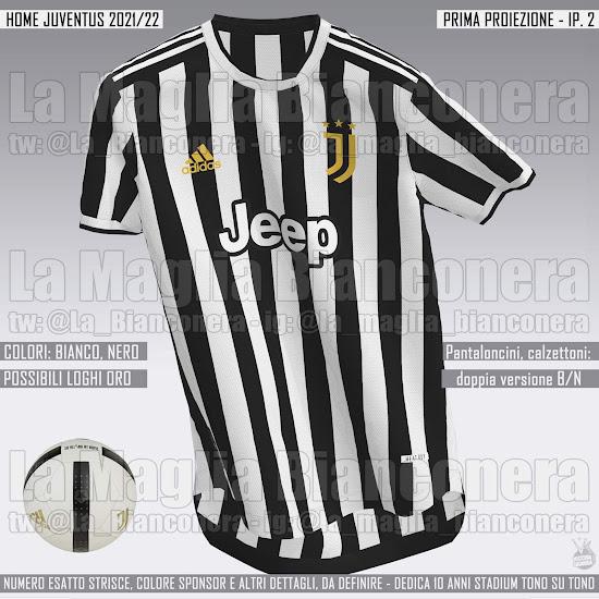 Juventus 21-22 Home, Away & Third Kit Designs Leaked ...