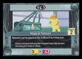 My Little Pony Magical Tantrum The Crystal Games CCG Card