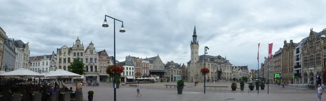 Vista del centre Lier
