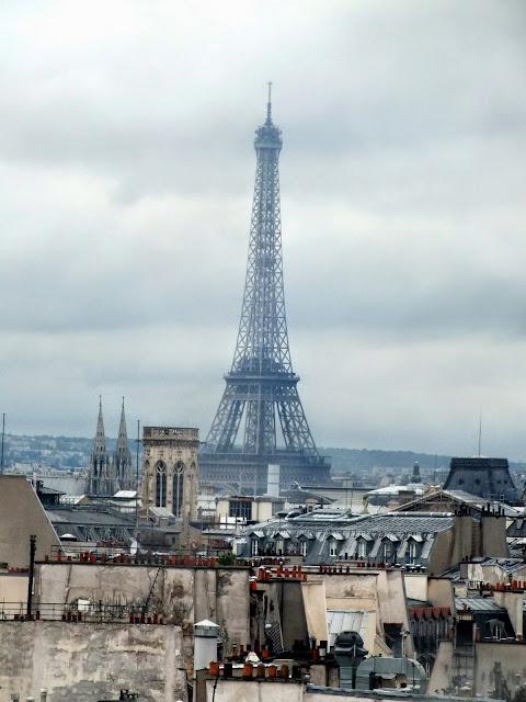 vistas de la torre eiffel