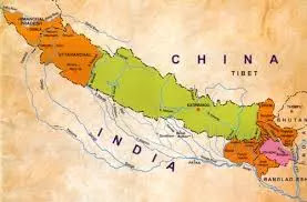 Map of great Nepal
