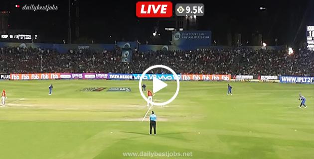 RR Vs KXIP Live Streaming 4th T20 Live Cricket Score IPL 2019