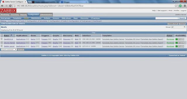 Cara Menambahkan Host windows di zabbix