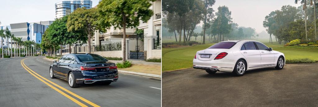 BMW 740Li và Mercedes-Benz S 450L - cuộc chiến sedan hạng sang