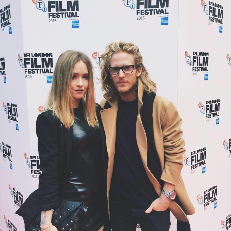 Fashion Blogger Lucy Love and boyfriend, actor Joseph Dewey