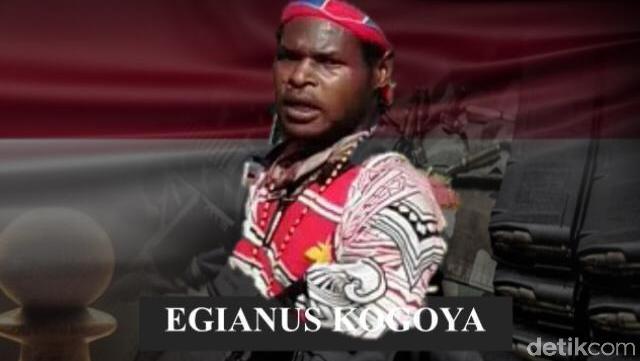 Tentang Egianus Kogoya di Balik Penembakan Pekerja Trans Papua