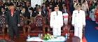 HUT RI 73 di Sekadau, Detik-Detik Proklamasi Berlangsung Khidmat