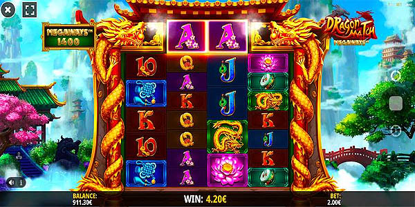 Main Gratis Slot Indonesia - Dragon Match Megaways (iSoftbet)