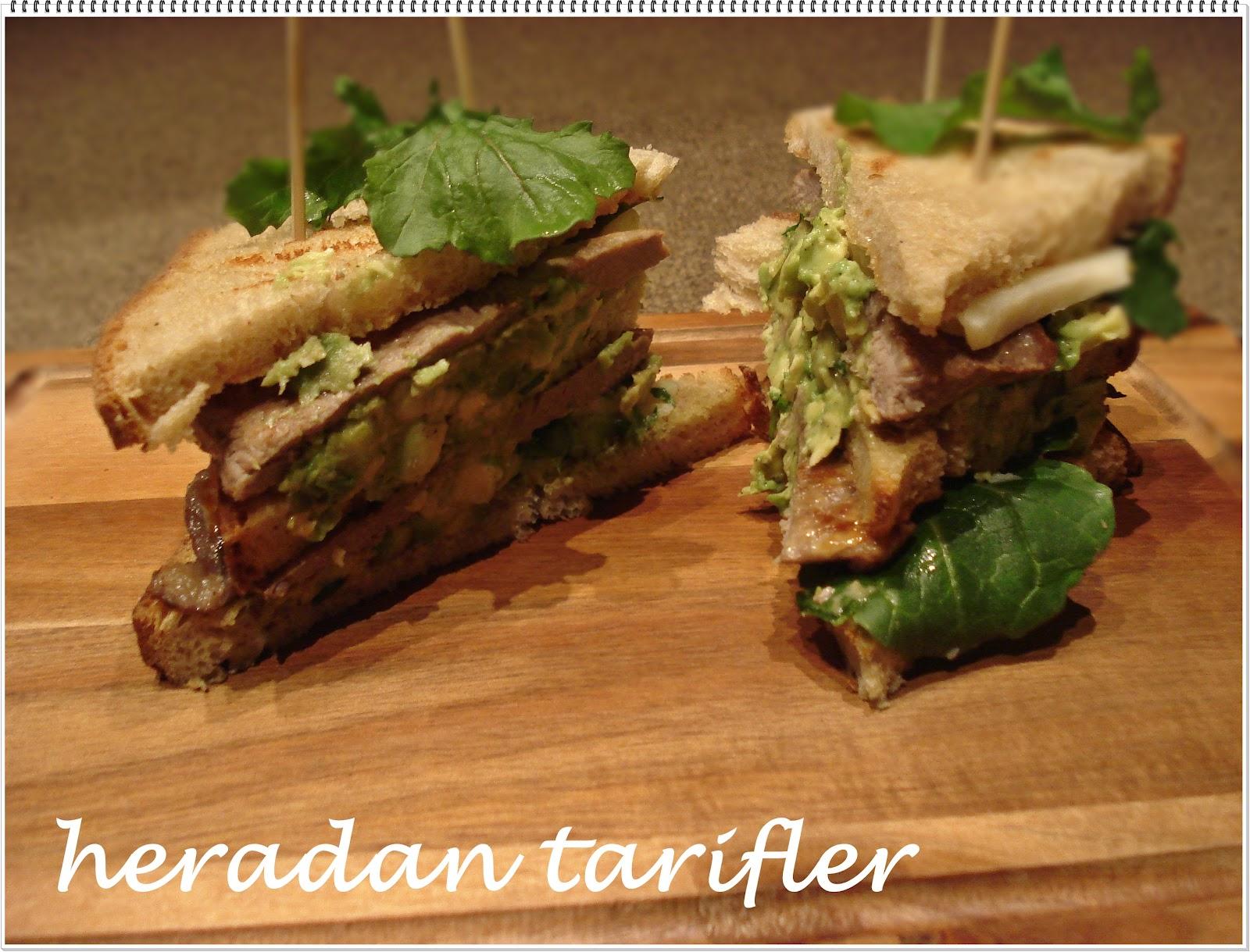 Biftekli sandviç tarifi