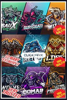 Esports logo for your team game, twitch, or youtube - E-sports team logos - logo design concepts