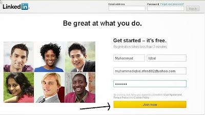 Akun Linkedin