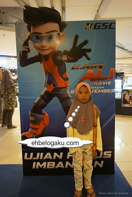 Iris Neo, Ejen ali the Movie Review, Review movie, Kartun animasi Ejen Ali