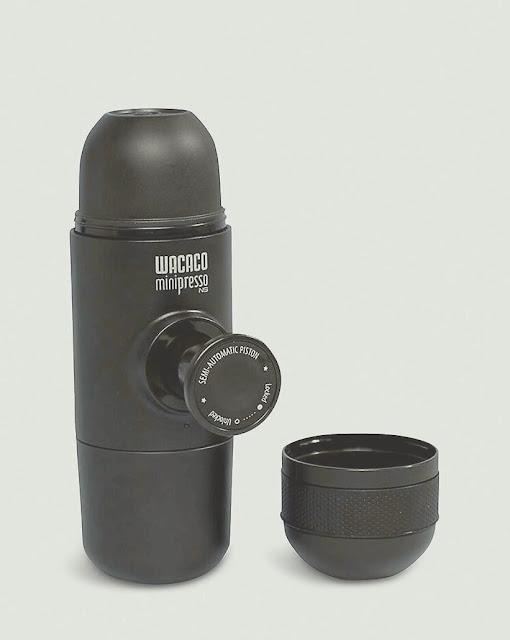 """أفضل مكينة قهوه كبسولات محمولة """"WACACO MINIPRESSO NS"""""""