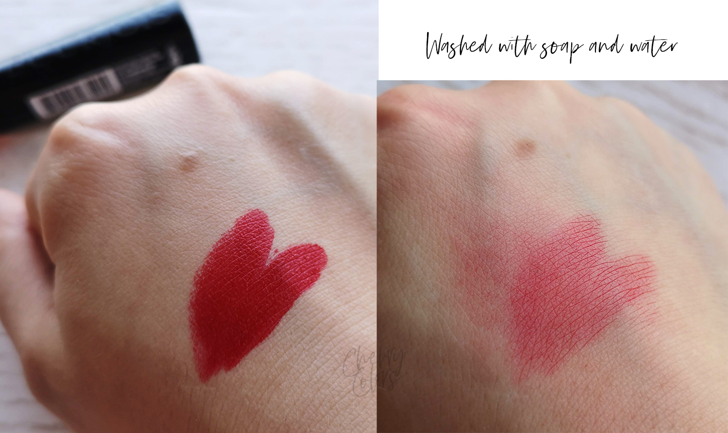 Bourjois Rouge Fabuleux Cindered-lla