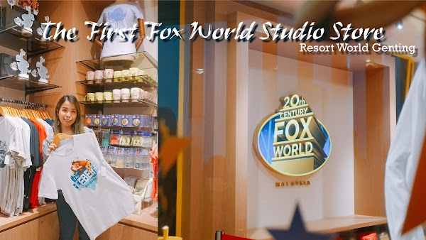 The FIRST Fox World Studio Store at Resort World Genting