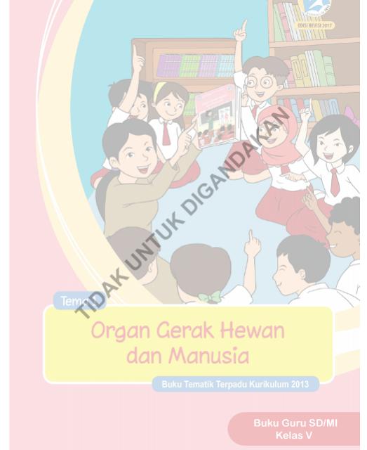 Buku Kelas 5 Kurikulum 2013 Revisi Tahun 2017 SD/MI PDF