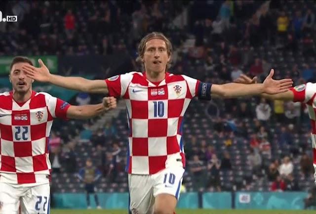 Κροατία-Σκωτία 3-1 : Πρόκριση με υπογραφή Μόντριτς