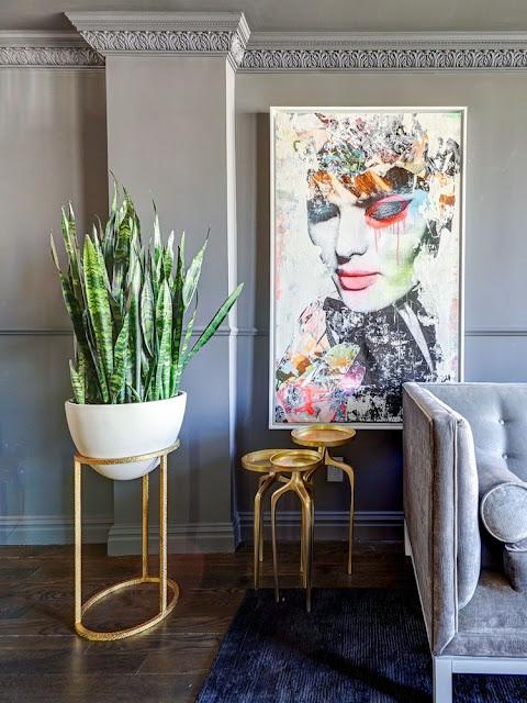 Frisches Grün fürs Zimmer : Neue Ideen rund um Zimmerpflanzen vom Blumentopf zum Regal als grüner Raumteiler
