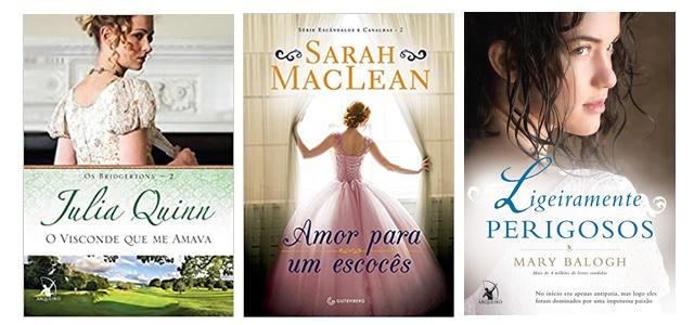 Top 3 mocinhos favoritos de romance de época