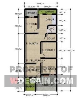 Desain Rumah Lebar 6 Meter Panjang 15 Meter : desain, rumah, lebar, meter, panjang, Desain, Rumah, Lebar, Meter, Panjang, DESAIN, RUMAH, MINIMALIS