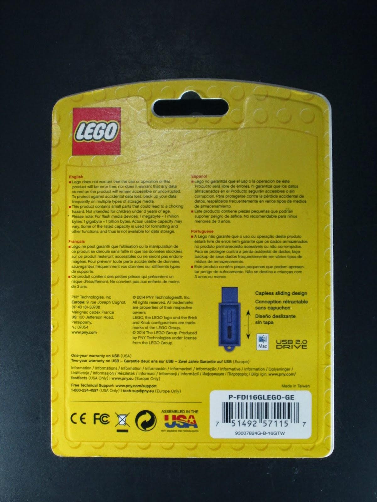 Pen USB LEGO