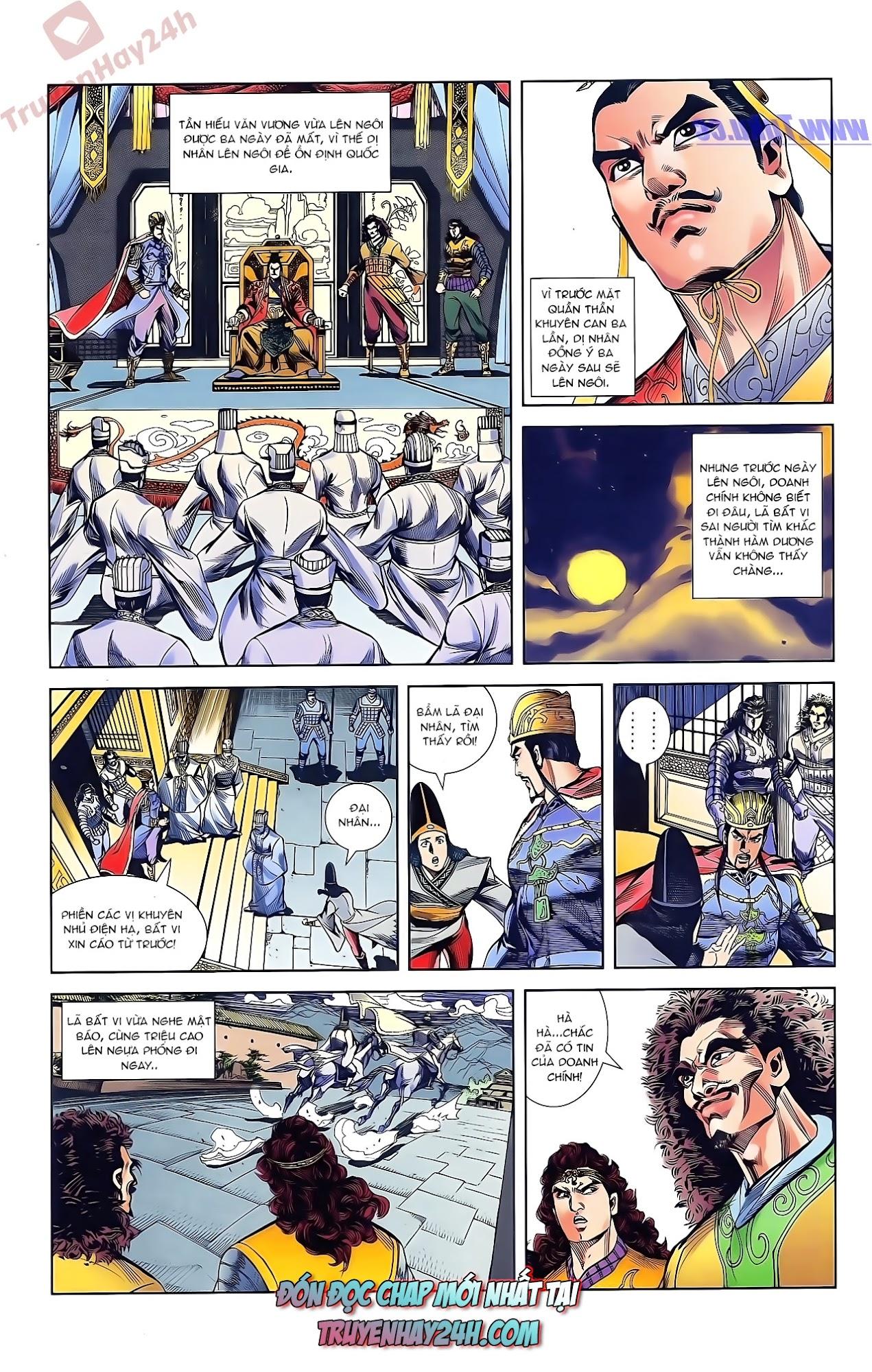 Tần Vương Doanh Chính chapter 43 trang 30