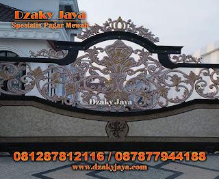 Pintu Gerbang Klasik, Pintu Gerbang Besi Tempa, Model Pintu Gerbang Besi Tempa.
