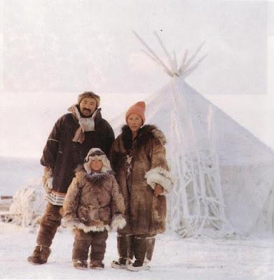 Chukchi Tribe Family Siberia