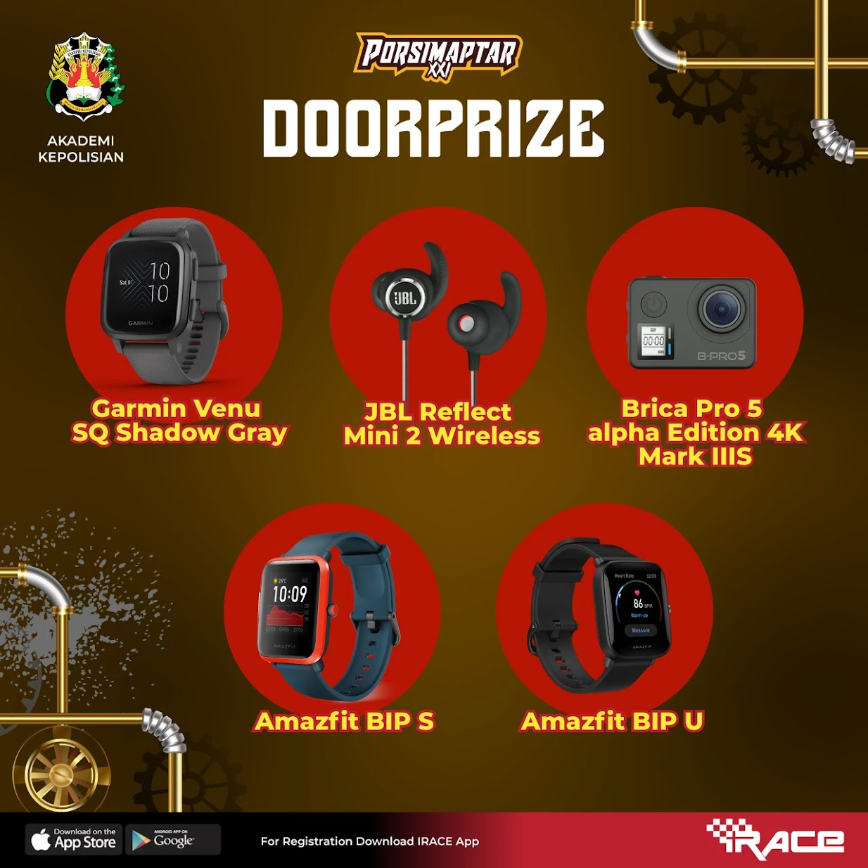 Doorprize � Porsimaptar Virtual Run XXI • 2021