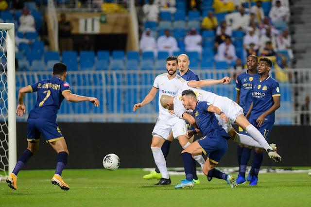 مشاهدة مباراة النصر والفيصلي بث مباشر
