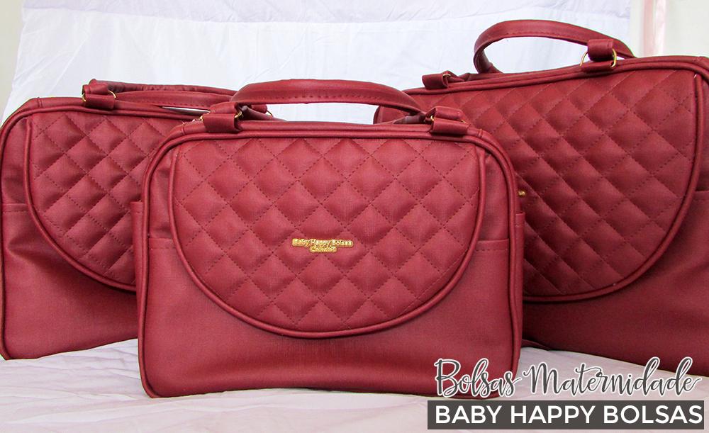 Bolsas Maternidade - Baby Happy Bolsas