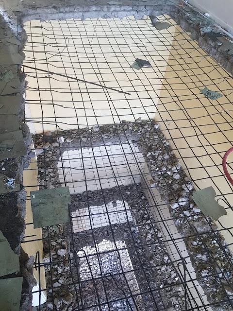 kompresör ile bina yıkımı