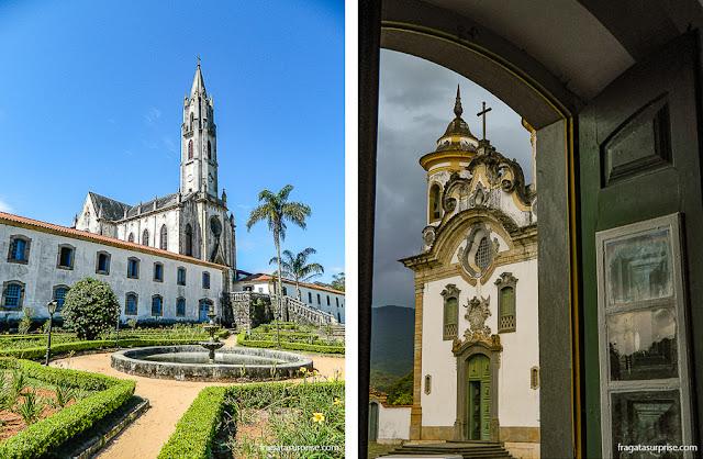 Cidades Históricas de Minas: Santuário do Caraça e Mariana