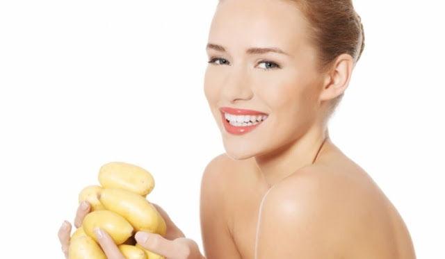 Cách làm trắng da hơn bằng khoai tây hiệu quả