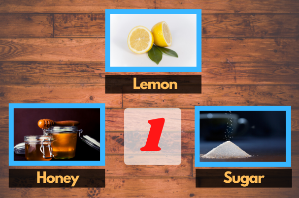 remove tan with lemon and honey