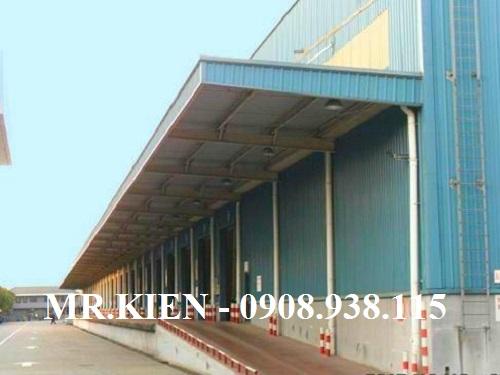 Thi công mành nhựa PVC ngăn bụi Tổng kho Hanjin Logistics